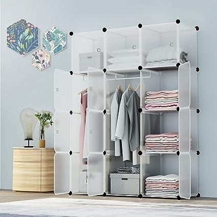 Amazon Kousi Portable Closet Clothes Wardrobe Bedroom Armoire