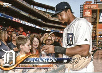 Amazon.com: 2018 Topps Factory Team Sets Detroit Tigers #DT-8 Jeimer  Candelario Detroit Tigers Baseball Card: Collectibles & Fine Art