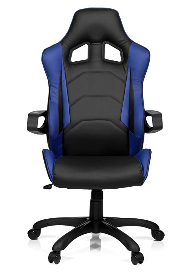1 opinioni per hjh OFFICE 621839 Sedia da gaming / Sedia da ufficio RACER PRO l similpelle nero