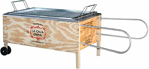 La caja china Cajas Sau # 2 Roasting Caja cerdo Barbacoa: Amazon.es: Jardín