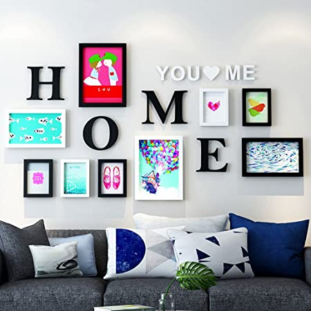ZGP Home@Wall photo frame Photo Frame Sets,Living Room Photo Wall