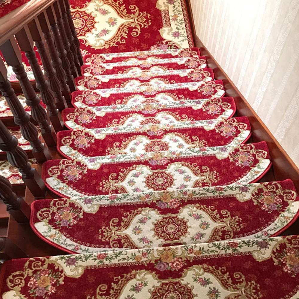 stufenmatten innen 15 st/ück treppen teppich treppenschutz stufenmatten au/ßen stufenmatten set treppenmatten antirutschstreifen treppe stufenmatten-008 blau /_24 Produkt wurde aktualisiert 65 cm