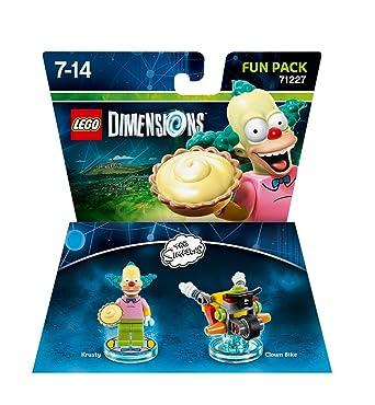 SimpsonPack Figurine Krusty 'lego Dimensions' Clown Les Le rxeodCBW