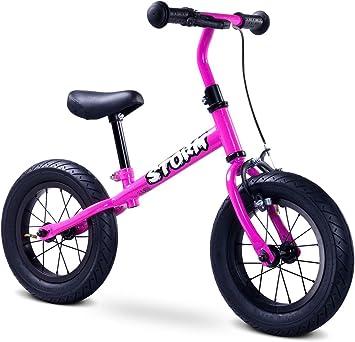 Bicicleta Sin Pedales Toyz Storm, Ruedas Neumáticas Color Rosa ...