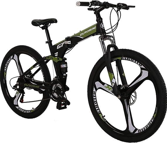 OBK G4/G6 26″ Full Suspension Folding Mountain Bike