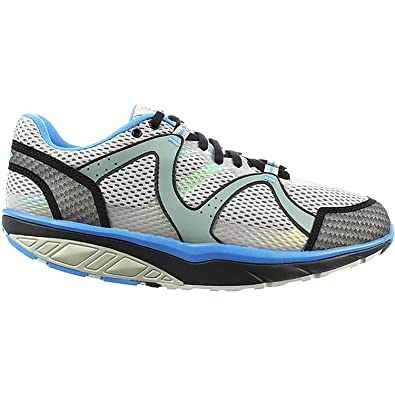 030fca708694 MBT Men s Sabra Trail Lace-Up Pebble Grey Stone Blue Synthetic Mesh ...