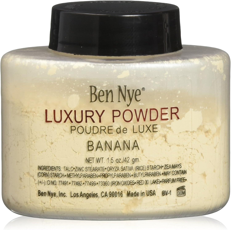 Ben Nye Luxury Powder Face Makeup, Banana, 1.5 oz.