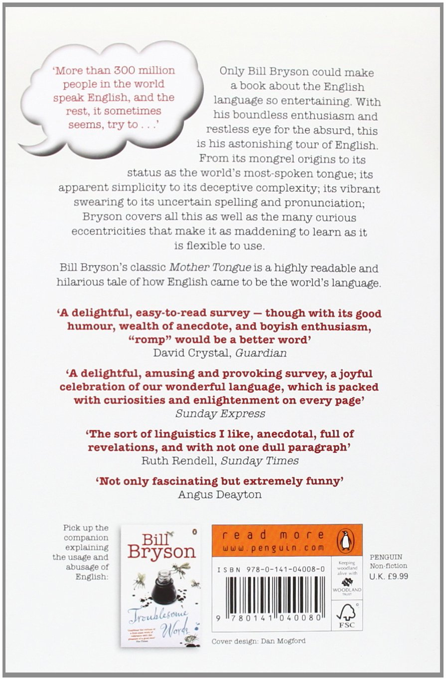 Mother tongue pdf the bill bryson