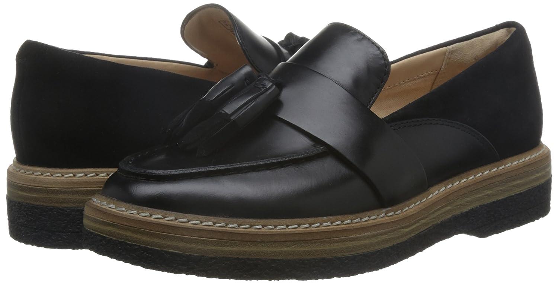 CLARKS ZAPATO 26126672 ZANTE SPRING NEGRO 38 Negro: Amazon.es: Zapatos y complementos