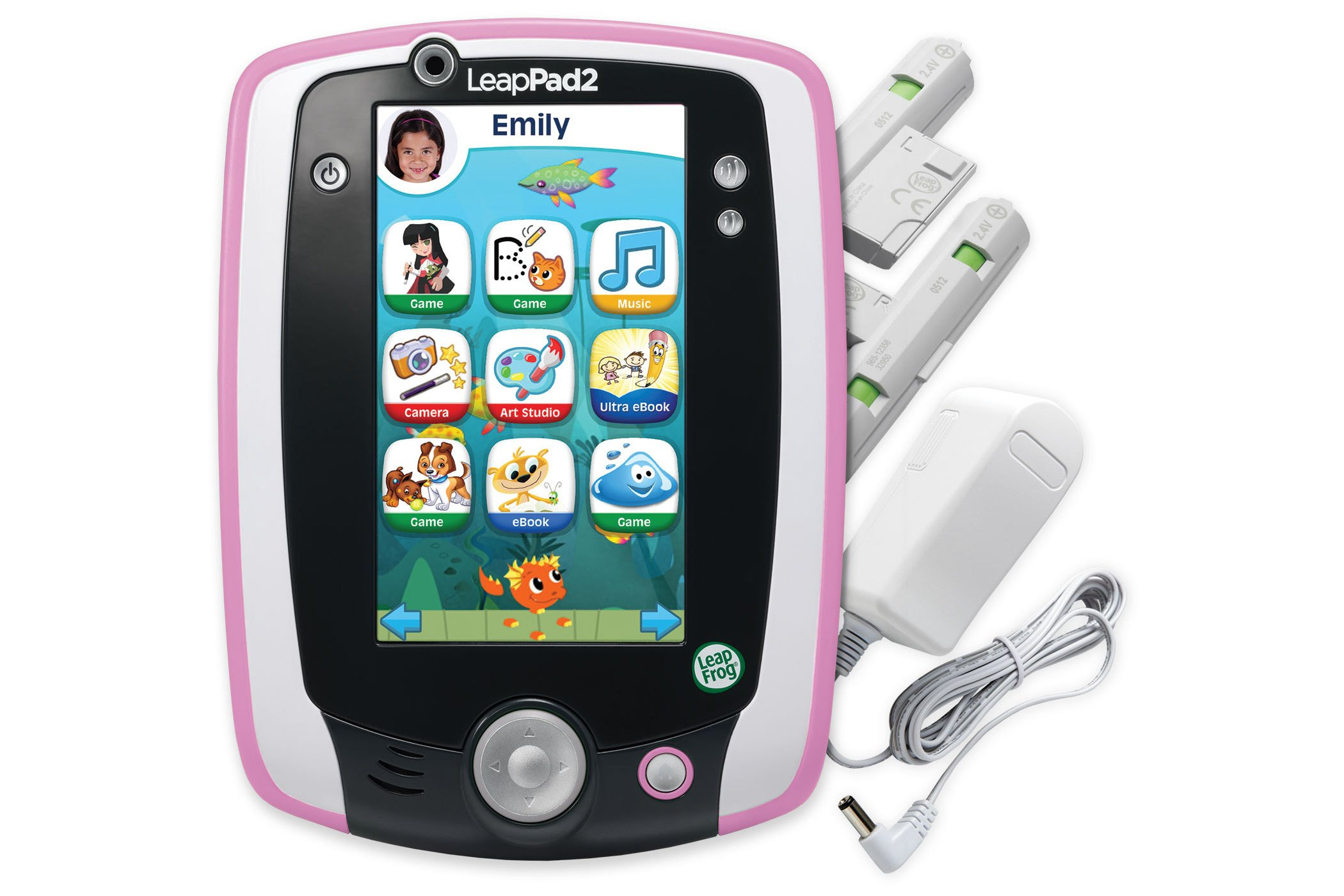 LeapFrog LeapPad2 Power Learning Tablet, Pink