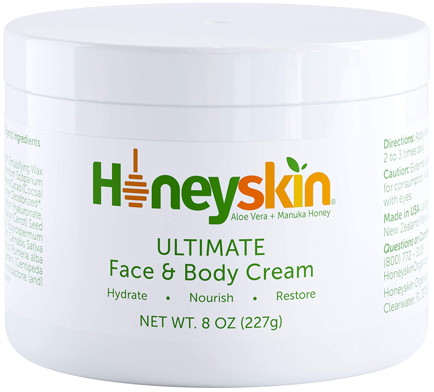Honeyskin Face and Body Moisturizer