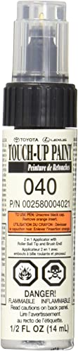 Genuine Toyota 00258-00040-21 White Touch-Up Paint Pen