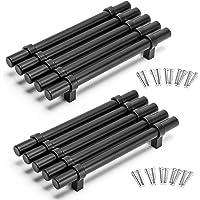Yorbay 10 Pack Kast Handvatten Rvs Keuken T Bar Handvat Lade Deur Garderobe Kast Meubilair Trekt Knoppen Diameter 14mm…