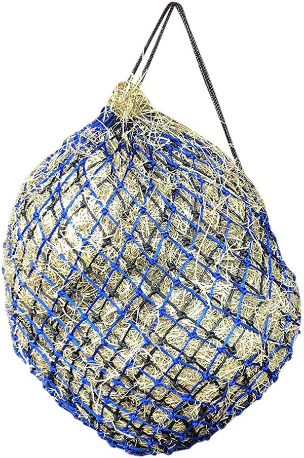 Horse Treats /& Soak Hay Bale Metal Ring Net Bag With Extra Strong Mesh Holes.Horse Accessories Haynet To Trickle Feed Haylage Double Hay Net Slow Feeder For Greedy Horses