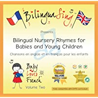 French Songs CD for Babies and Toddlers | French and English Translated Nursery Rhymes | Award Winning BilinguaSing Baby Loves French Vol.2 | Learn French 0-4 Years Old