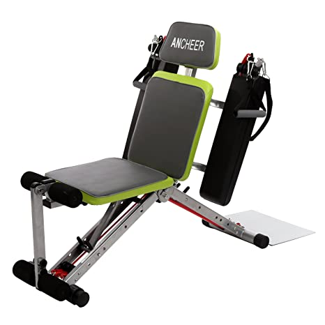 ancheer Fitness Banco de pesas, entrenamiento, a partir de banco ...