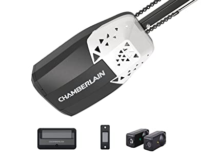 Chamberlain Group Pd220 12 Hp Chain Drive Garage Door Opener Black
