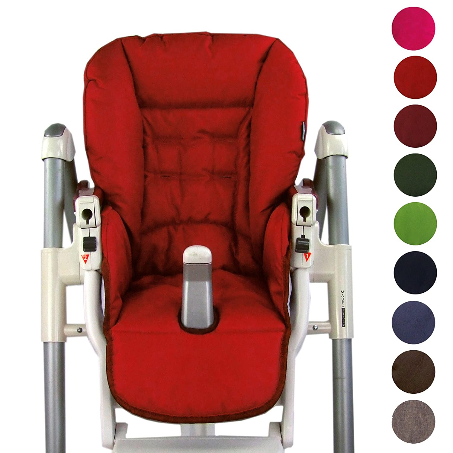 Bambini World Seat Cushion Replacement Case for Peg Perego Prima Pappa Diner * 9Colours * NEW Navy BambiniWelt