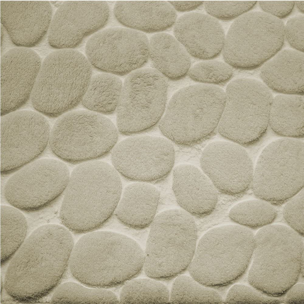 85 x 45 cm Motivo ciottoli Soldela  Tappetino in Memory Foam