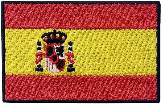 Bandera de España Español EEmblema nacional Parche Bordado ...