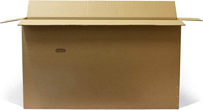 Caja de cartón para bicicleta – Caja de cartón de doble pared para bicicleta, para embalar, almacenar y enviar – Caja de envío de bicicletas con asas – Disponible en varios tamaños (