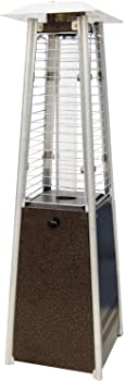 Hanover HAN0202HB Mini Pyramid Tabletop Propane Patio Heater