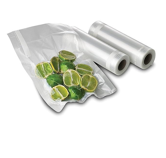 2 rollos de sellador de alimentos al vacío de Leto TG, rollos de ...