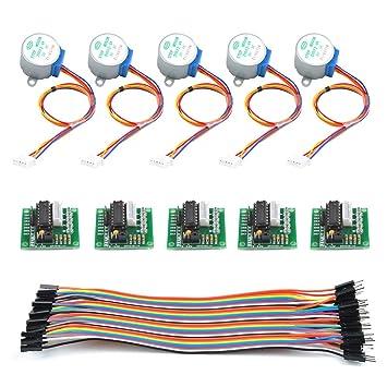 Miraculous Timesetl 11 Teilig Schrittmotor Stepper Motor Fur Amazon De Elektronik Wiring Digital Resources Tziciprontobusorg
