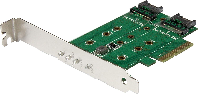 Startech Com 3 Port M 2 Ssd Adapterkarte 1x Pcie Computer Zubehör