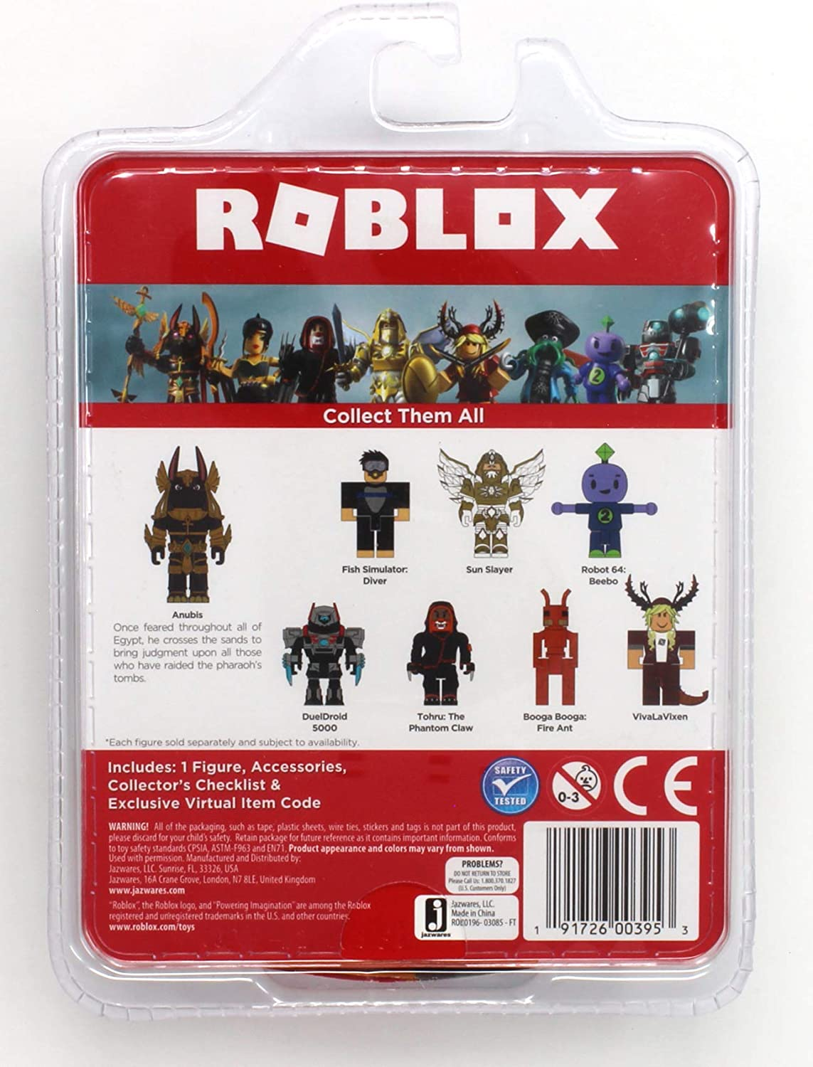 Amazon Com Roblox Anubis Single Figure Core Pack With Exclusive