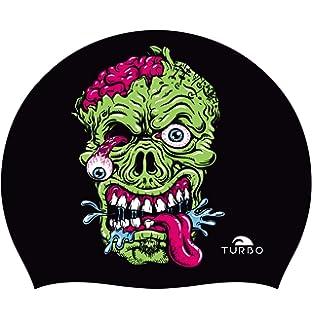 Turbo Gorro Natación Silicona Viking Skull Silicone Cap: Amazon.es ...