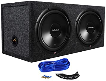 amazon com rockford fosgate prime r2d2 12 12 inches 500 watt rms rockford fosgate prime r2d2 12 12 inches 500 watt rms power dual 2 ohm