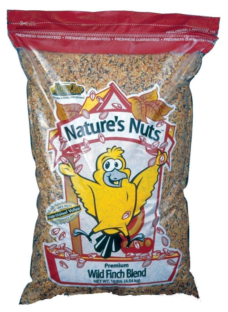 Natures Nuts 00054 Chuckanut Products 5 lbs Premium Wild Finch Blend