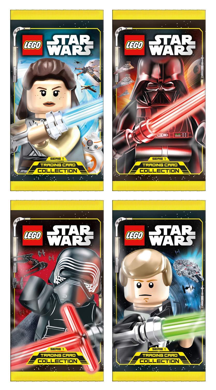 Top Media 180224 Lego Star Wars Cartas coleccionables ...