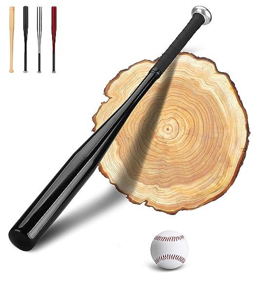 23 opinioni per PLUSINNO 28 pollici in legno / alluminio mazza da baseball con Baseball