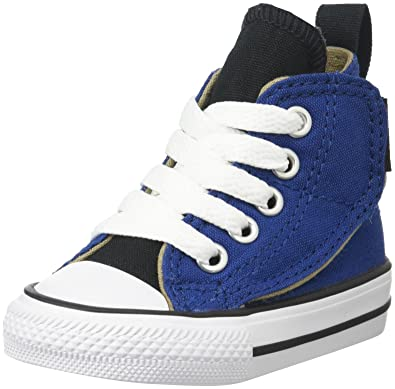 1c9adc521415 Amazon.com  Converse Kids Boys  Chuck Taylor All Star Simple Step Hi  (Infant Toddler)