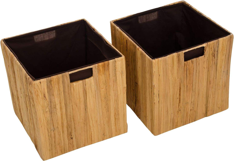 Estantería de VIVANNO 2 cestas de, caja