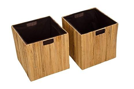 "Estantería de VIVANNO 2 cestas de, caja ""Tao Expedit Ikea para/Kallax"