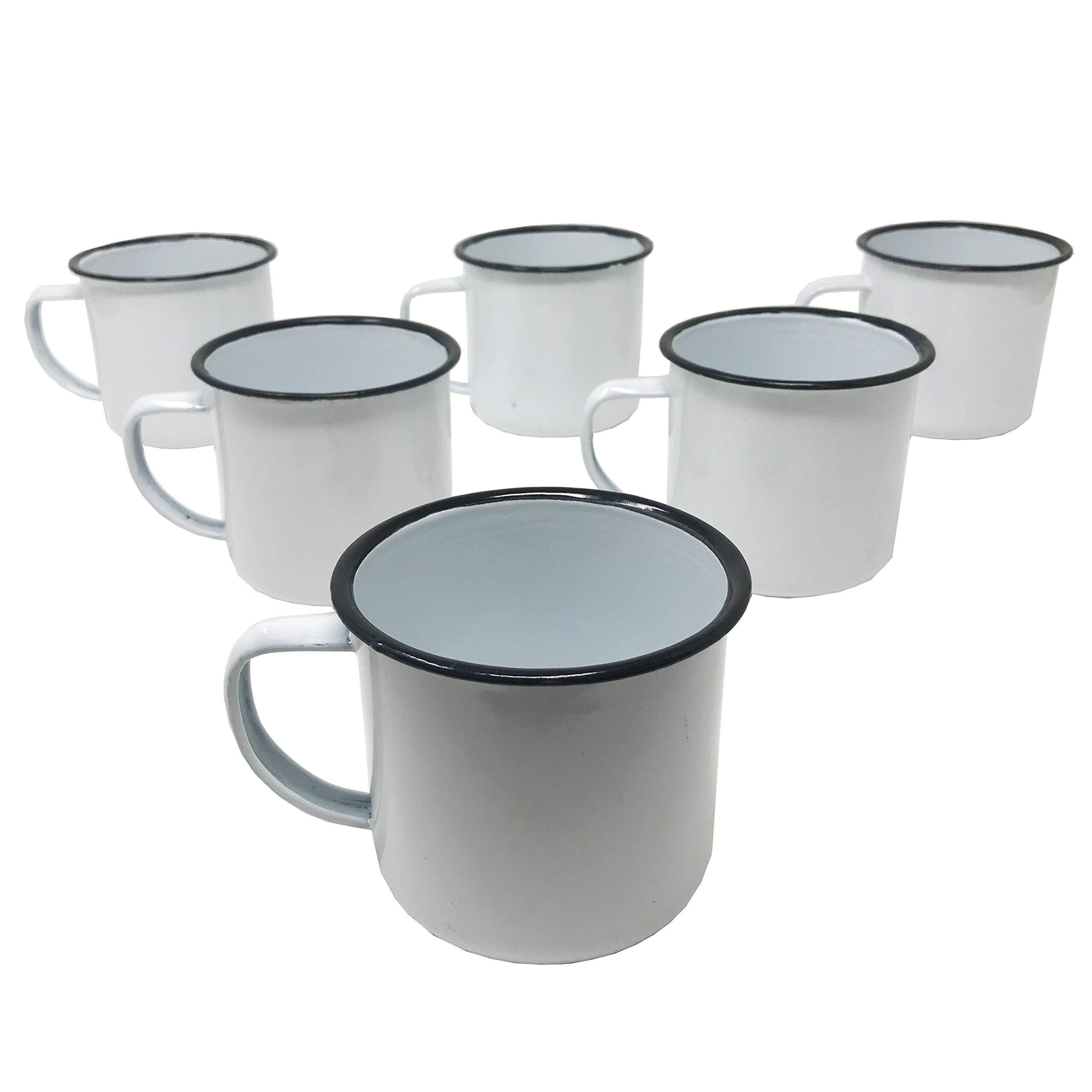 PeltreMxMx Enamel Camping Mug Hardware Metal Cups Steel Metallic Adventure Travel Accesories Coffee Mugs to Go by PeltreMxMx