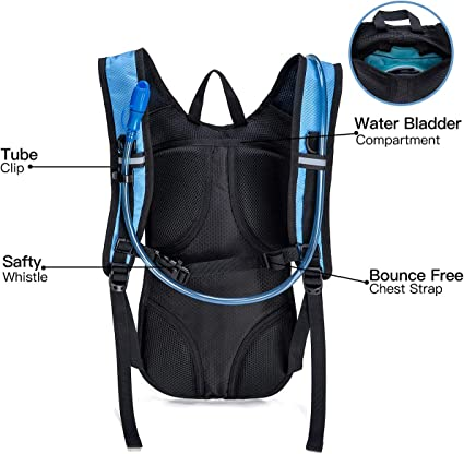 Collapsible Water Bottle Reusable BPA Free 17 oz-TPU Ultralight Soft Folding Water Bottles for Hydration Pack Ideal for Running Hiking Cycling Climbing-Leak Proof Bite Drinking Cap-Squeeze Bag Pouch