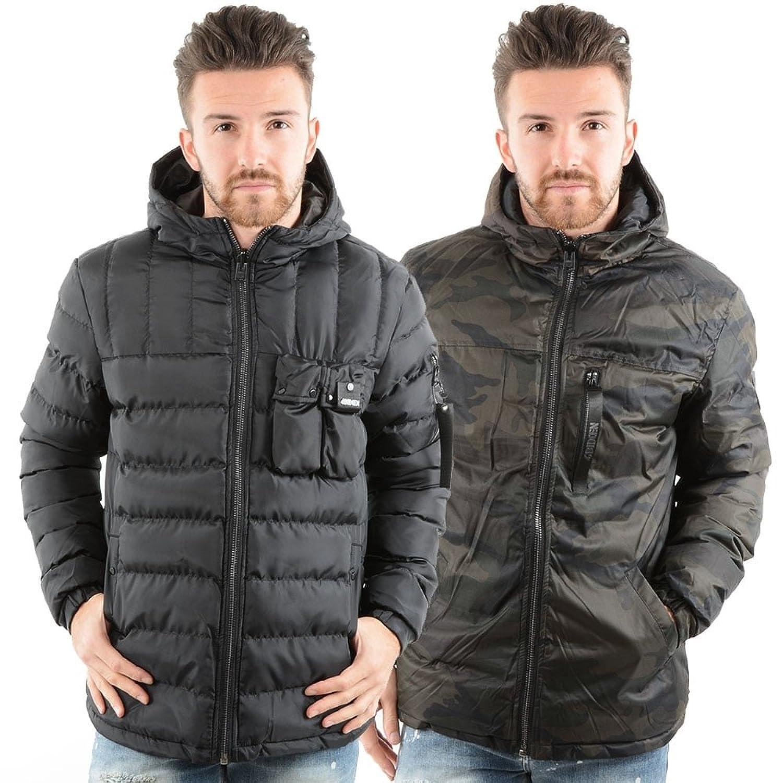 4BIDDEN 4Bidden Terrain Reversible Camo Hood Jacket - Black