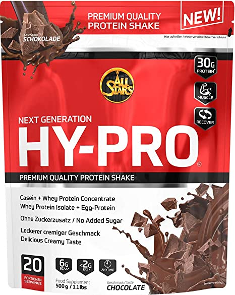 All Stars Hy-Pro 85 Chocolate - 500 gr