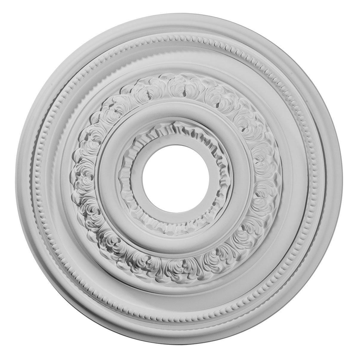 Ekena Millwork CM17OL 17 5/8-Inch OD X 3 5/8-Inch ID X 1 7/8-Inch Orleans Ceiling Medallion