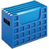 "Pendaflex Decoflex Desktop File, 9 1/2"" H x 12 1/4"" W x 6"" D, Sapphire Blue (23011) 2-Pack"