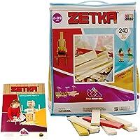 Zetka 240 Doğal + Renkli Parça