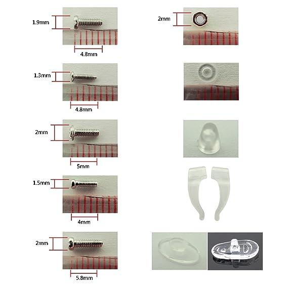 Ensemble d outils et de pièces pour réparation de lunettes et lunettes de soleil  avec vis, écrous et plaquettes d appui nasal (ET0001)  Amazon.fr  Cuisine    ... 301317835a29