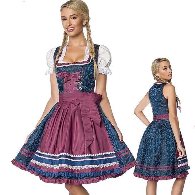 Traje De Oktoberfest De Las Mujeres Alemanas, Vestido De ...