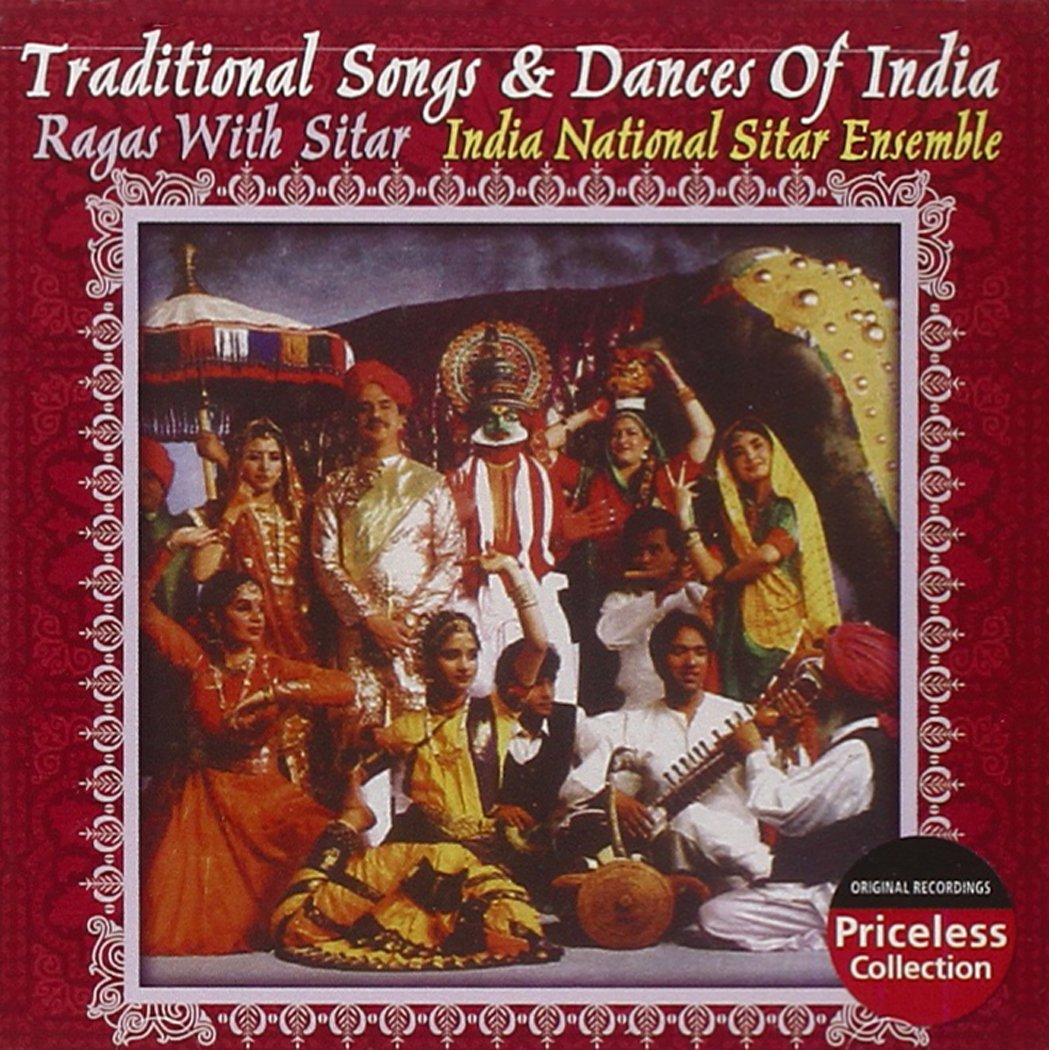 Traditional Songs And Dances Of Indian - Ragas With Sitars