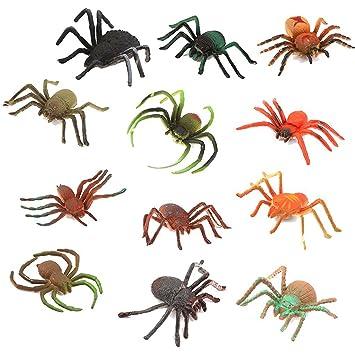 20x Plastikspinnen scherzt Spielwaren Halloween-Partei-DekorationEN WQ