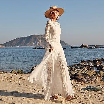 Vestidos De Boda De La Playa del Verano De Las Mujeres Tulle Sin Respaldo Elegante Vestidos